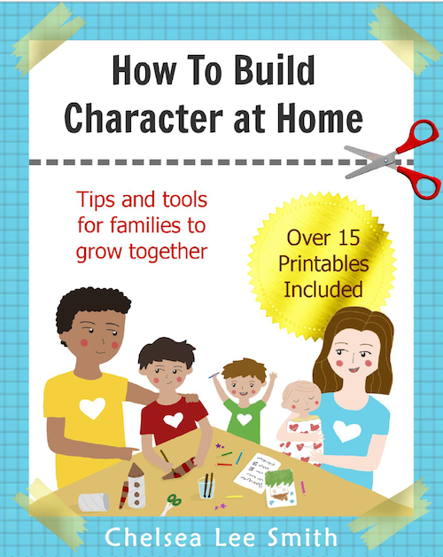 How to build character at home ebook cover